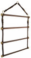 Horse Fare Leather Blanket Rack