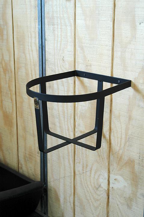 Wall Mount Bucket Holder Saddle Stackers