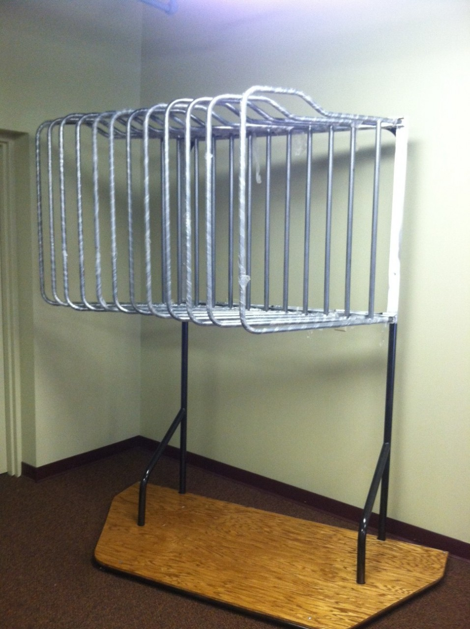 Saddle Stackers Deluxe Free Standing Hanging Blanket Rack